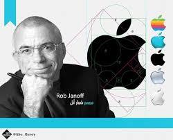 Rob Janoff طراح لوگوی اپل (1997)