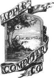 لوگوی اولیه اپل