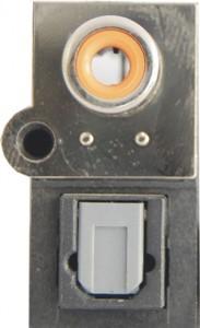 پورت (SPDIF (Sony Philips Digital Interface توسط کمپانیهای سونی و فیلپس طراحی و معرفی شده است. صدا به دو فرمت دیجیتال و آنالوگ در خروجی مادربوردها ارایه میشود، خروجی دیجیتال صدا به واسطه دو نوع پورت Optical و Coaxial با دستگاههای مربوطه در ارتباط است.