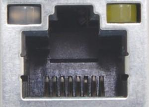 پورت LAN که پورت Ethernet نیز نامیده میشود